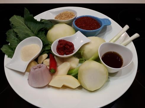 Kohlrabi Kimchi